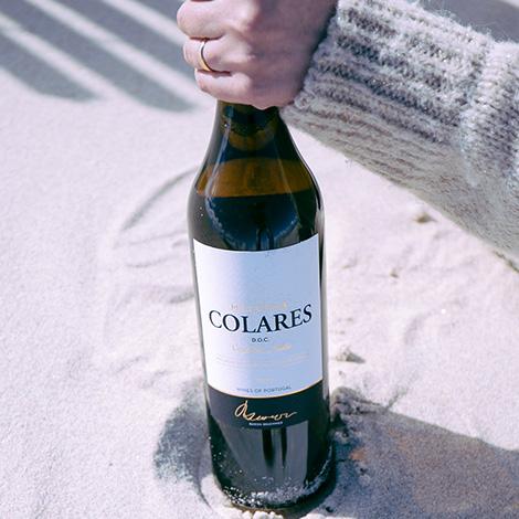 notas-salgadas-colares-vinho-casal-santa-maria-malvasia-2012-praia-areao-areia-mao-garrafa-bebespontocomes