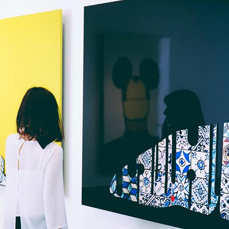 quadrada-paint-statement-vinho-conciso-dao-niepoort-quinta-de-baixo-exposicao-arte-joao-noutel-bebespontocomes