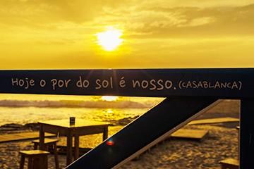 Hoje o Pôr do Sol é nosso!