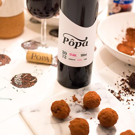 vinho-popa-doce-receita-trufas-tamaras-cacau-chocolate-ilustracao-rafaela-rodrigues-nhamnham-douro-bebespontocomes