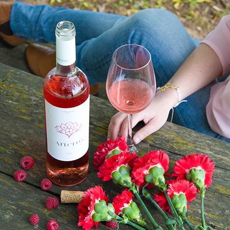 vinho-rose-verde-quinta-de-curvos-espadeiro-vinhao-2014-afectus-senha-de-abril-bebespontocomes