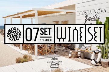 Wine Set Bebes.Comes / Beach Club